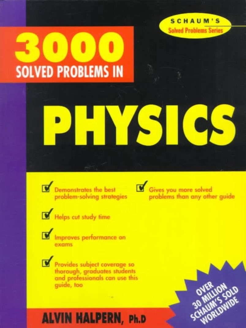 This Book Is Intended For Use By Students Of General Physics Either In Calculus Or Noncalculus Based Courses Problems Discrete Mathematics Algebra Calculus