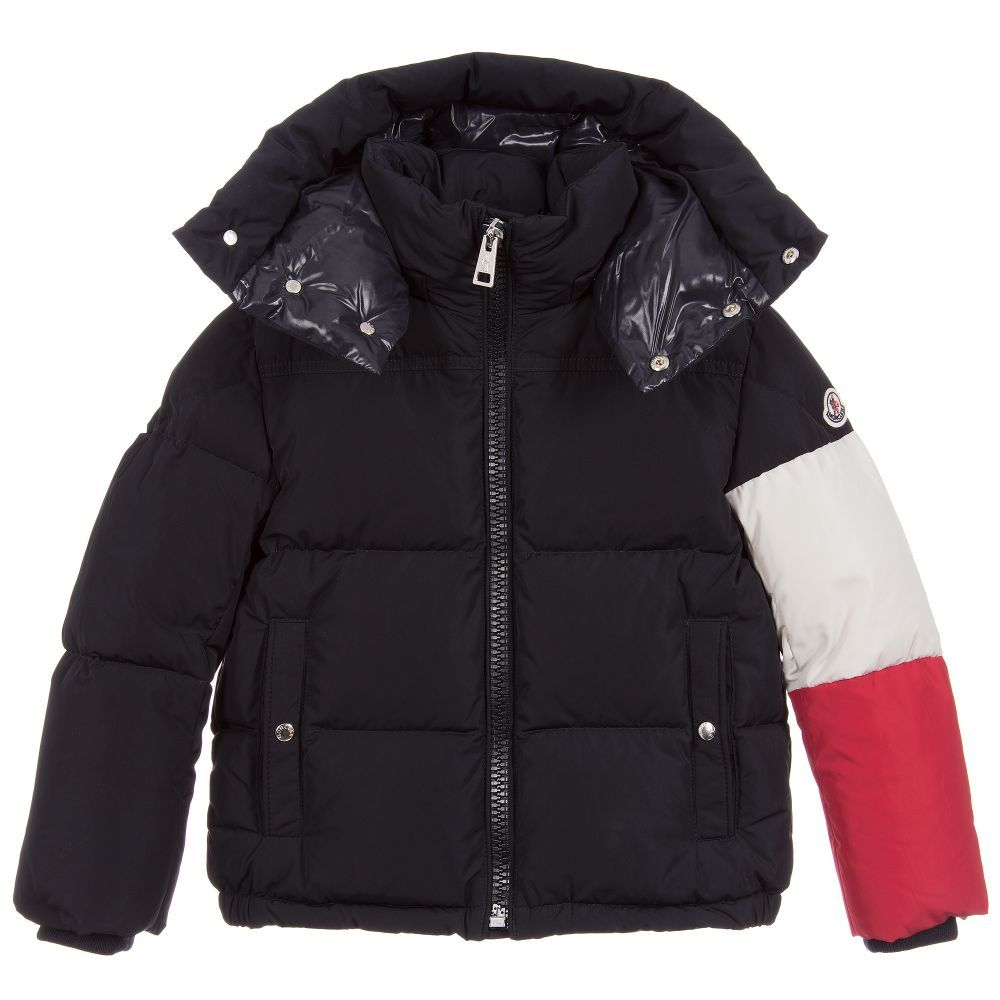 64d2e98d880c Blue CHAMPERY Down Jacket for Boy by Moncler. Discover the latest ...