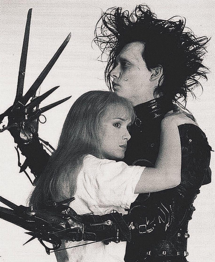ℤ On Instagram Edward Scissorhands 1990 Johnny Depp And
