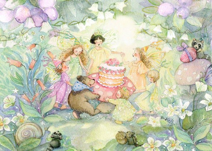 Картинка феи с днем рождения