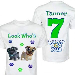 65c587e0c0a4 Puppy Pals Birthday Shirt // Puppy Dog Pals Personalized Birthday Shirt //  1st 2nd 3rd 4th Birthday Shirt // Name & Age