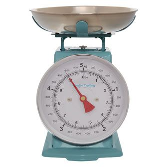 5kg Blue Kitchen Scales