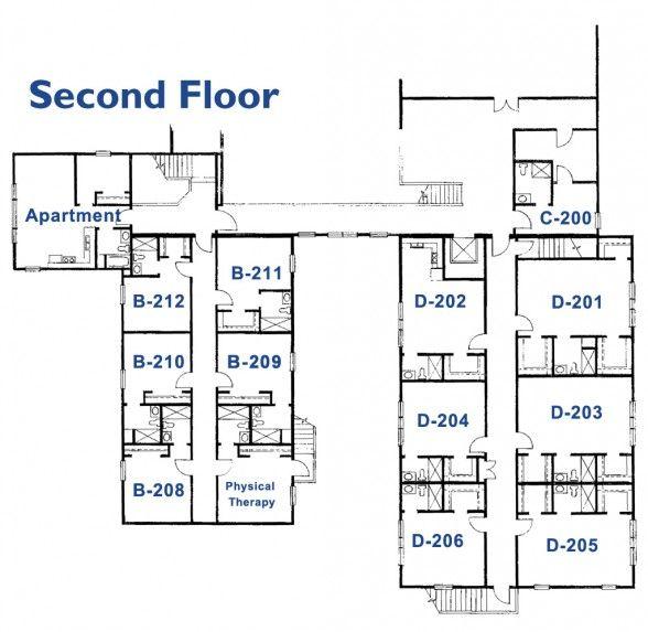Delightful Retirement Home Floor Plans Nursing Home Floor Plans Home Floor Plans Home  Interior Design