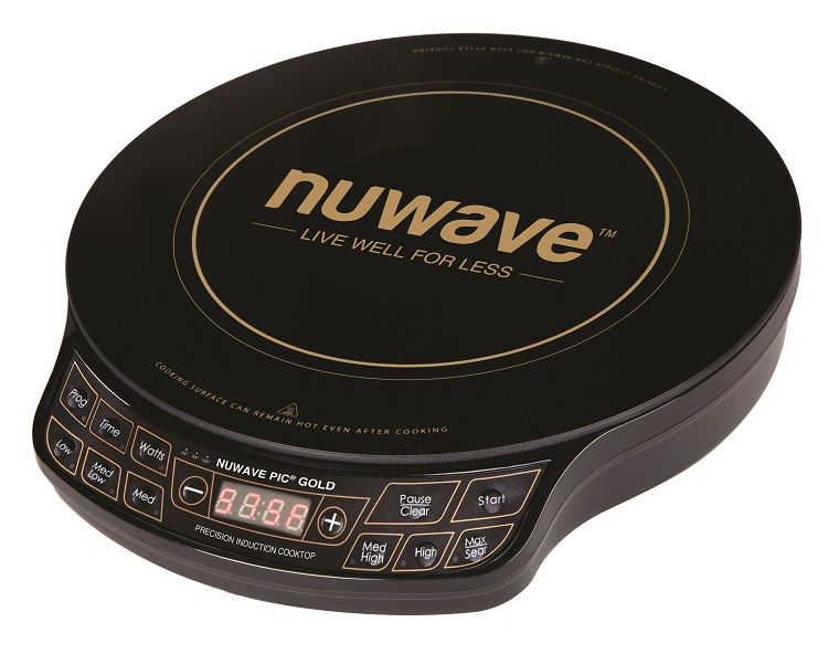 Nuwave Pic Gold Www Nuwavenow Com The Nuwave Pic Gold Is The Gold Standard For Induction Cooktops It Has 1500 Watt Induction Cooktop Induction Cooking Cooktop