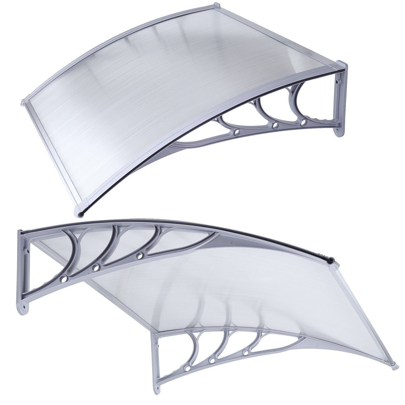 Canopy from polycarbonate do it yourself. Step by step installation instructions. Cost of materials 42
