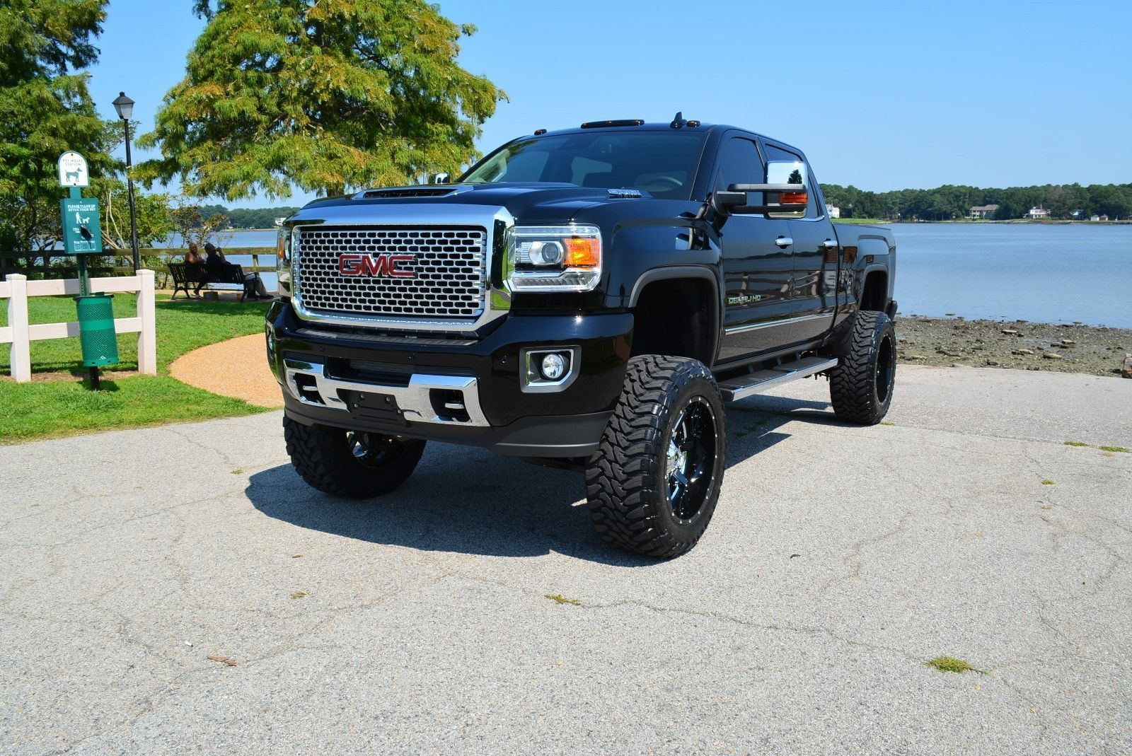 This 2017 Gmc 2500hd Denali Diesel Is Hard Loaded With Options