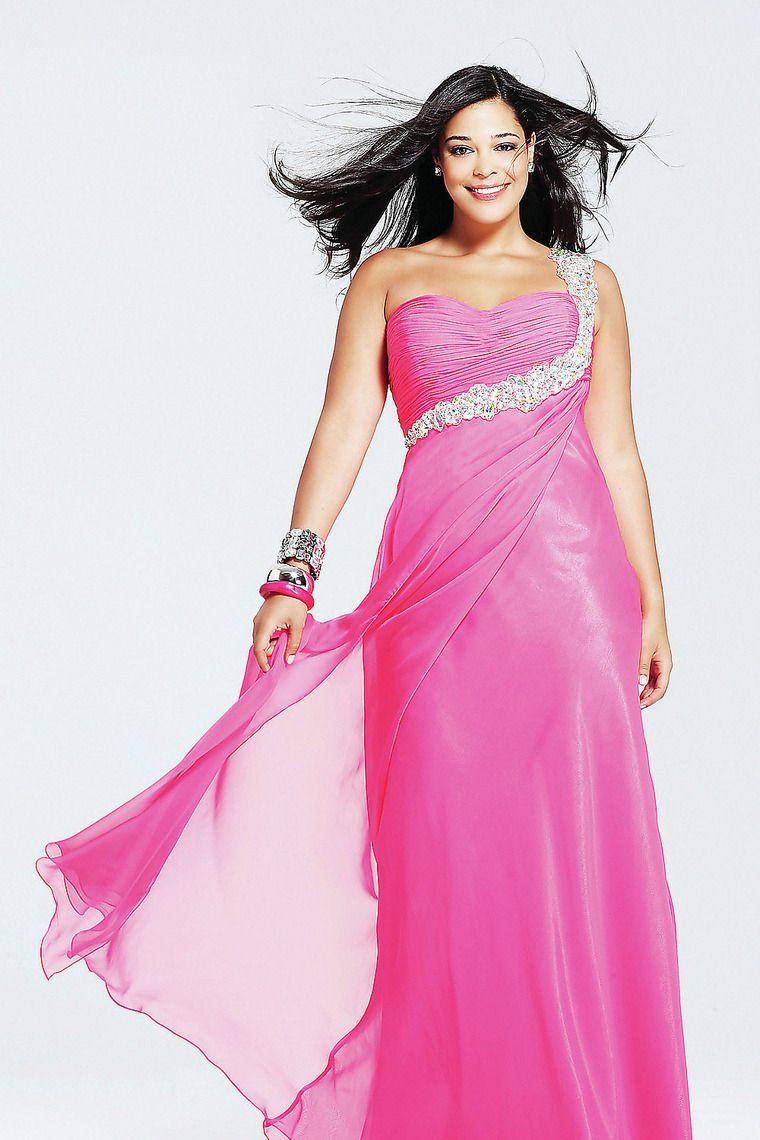 Prom dress plus size sheathcolumn floor length empire waist one
