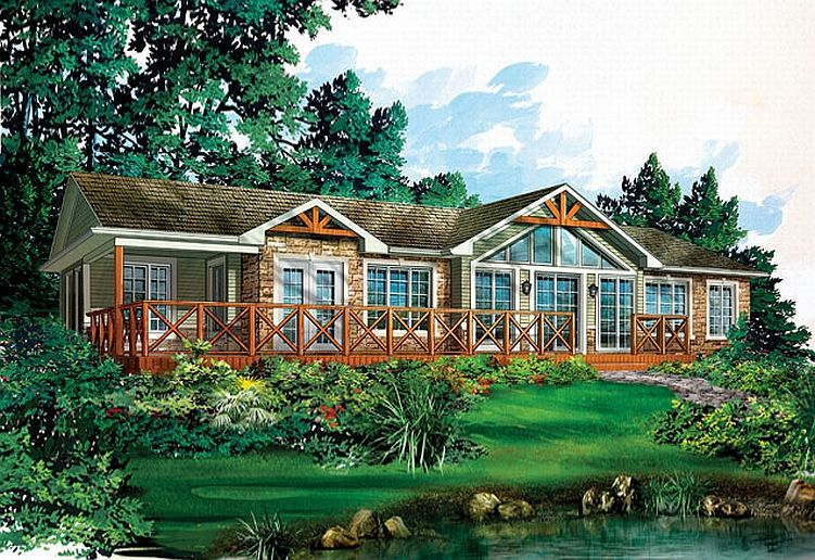 Cottage model homes