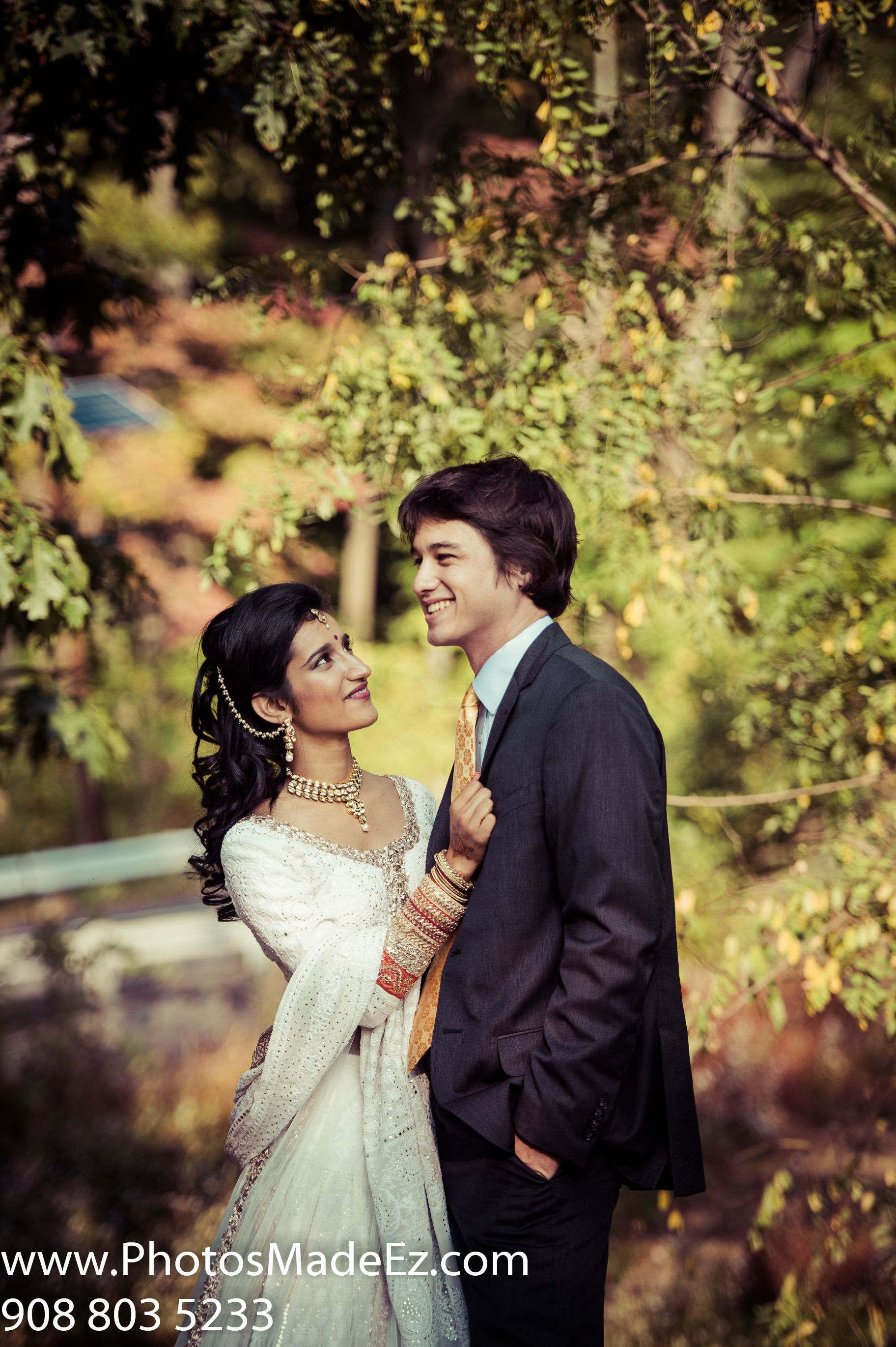 Indian Bride And American Groom Wedding In Nj Indian Bride And