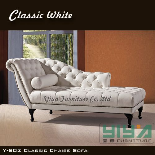 Modern-White-Classic-European-Leisure-Style-Chaise-Lounge-Chair ...