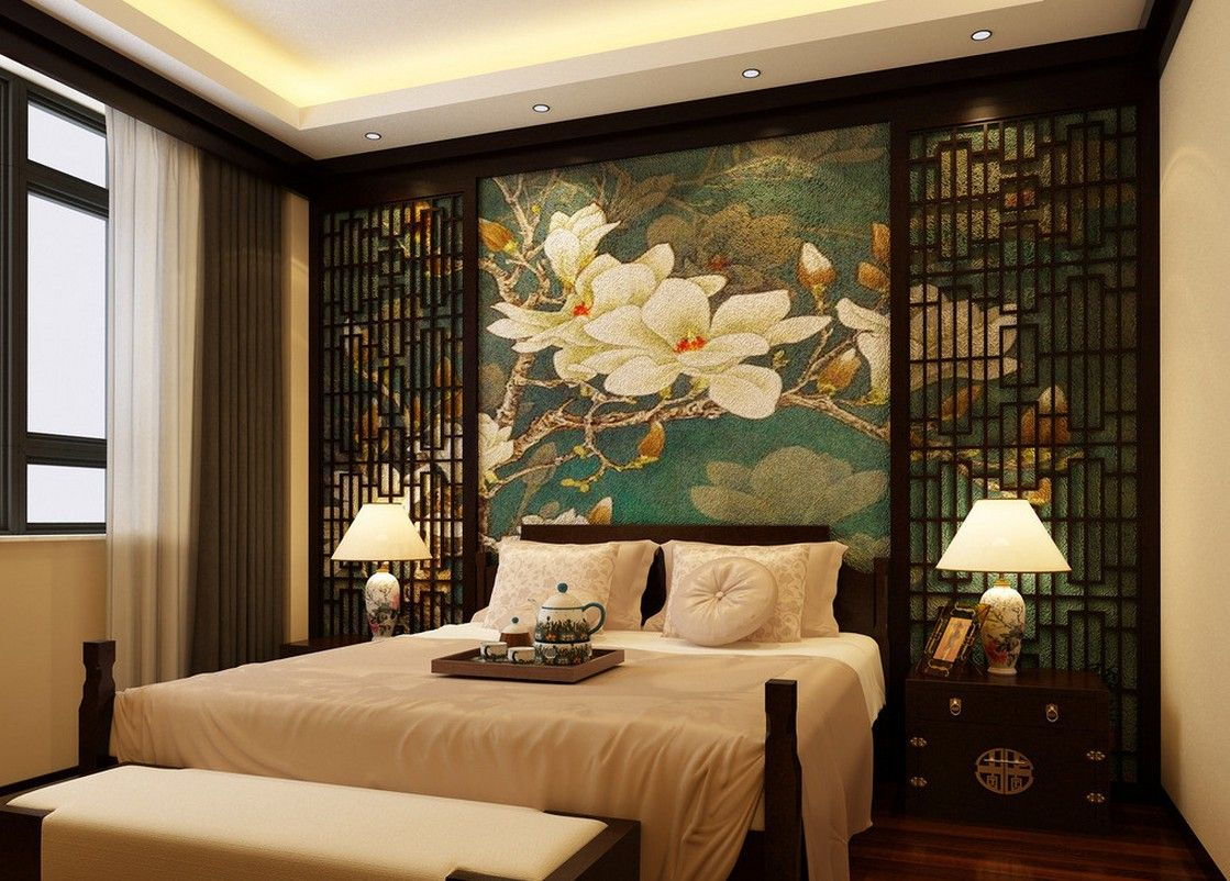 Oriental Bedroom Decor Oriental Style Bedroom Chinese Oriental Style Chinoiserie