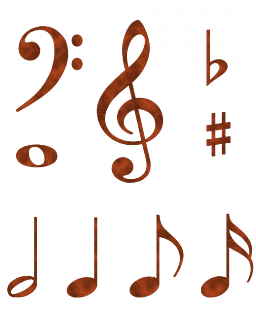 Free Clip Art Music Notes Symbols Music Notes Music Note