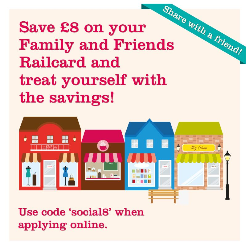 Save 8 On Your Friends And Family Railcard By Using The Code Social8 When You Apply Online How To Apply Apply Online Family