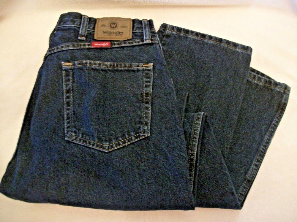 29677d61 Men's 34 X 30 Wrangler® Five Star Premium Denim Regular Fit Jean 96501MR # Wrangler #ClassicStraightLeg