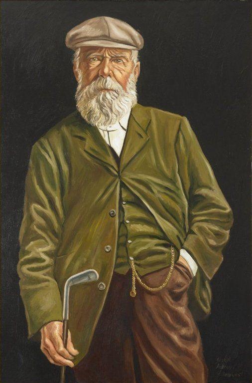 Tom Morris Golf Golfers Old Tom Morris Old Tom Morris With Golf