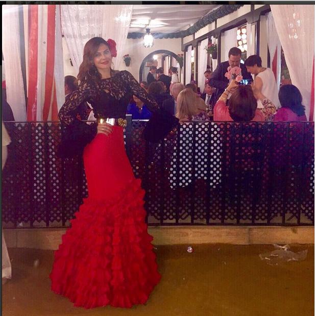 Pin De Cristina Cruz Gámez En Moda Flamenca Moda Flamenca Moda Feria