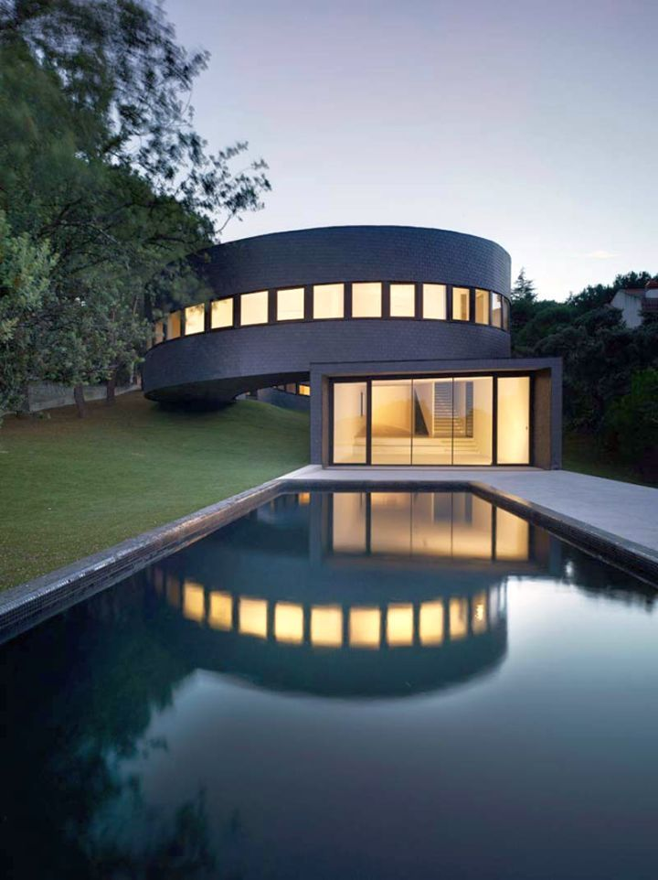 49 Most Popular Modern Dream House Exterior Design Ideas 3 In 2020: Rounded Futuristic House Plans