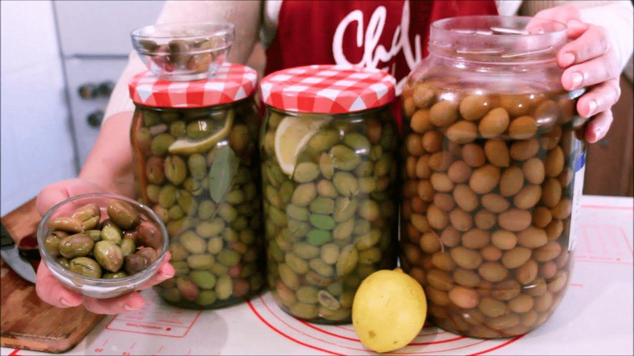 ترقيد الزيتون بطريقة احترافية تصبيرالزيتون مدة طويلة دون أن يفسد بالدليل زيتون مرقد اكثر من سنة Vegetables Food Beans