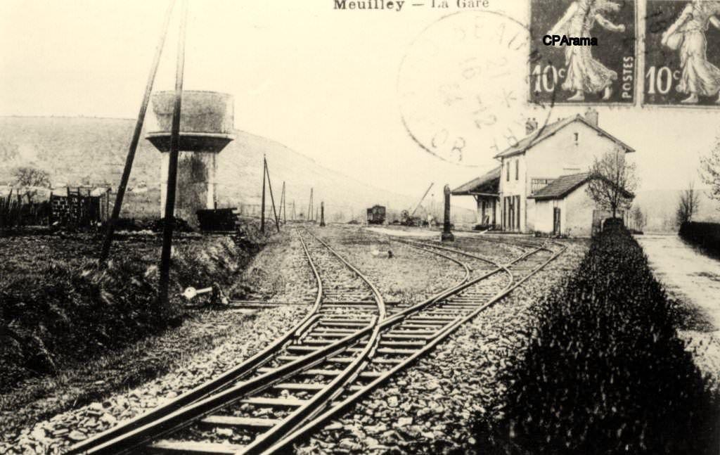 Meuilley (Côte d'Or) | Carte postale, Cartes postales anciennes, Postale