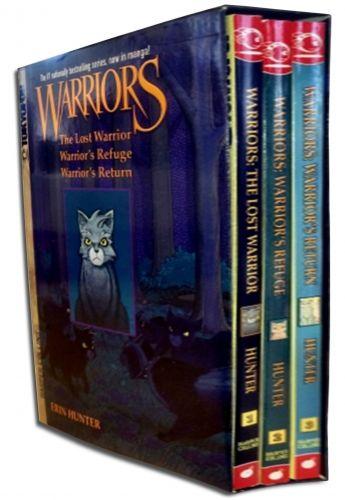 Warriors Manga Box Set Graystripes Adventure Collection Of 3