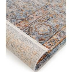 Photo of benuta carpet Valencia Blue 300×400 cm – Vintage carpet in the used look benuta