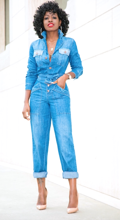 8b120dfc278d Denim jumpsuit