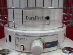 DuraHeat DH 2301 Portable Kerosene Heater Manual Instant