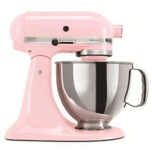 Pink KitchenAid Mixer!