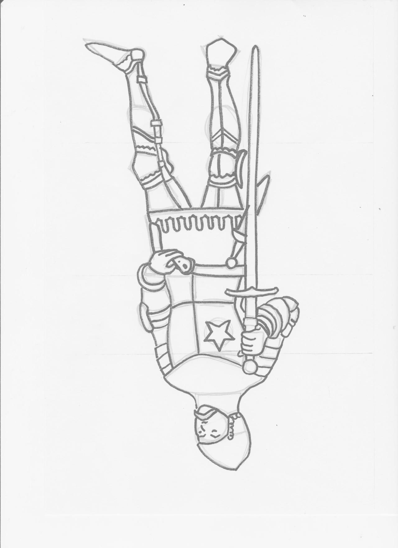Me Val Themed Upside Down Drawing Week 3 Classical