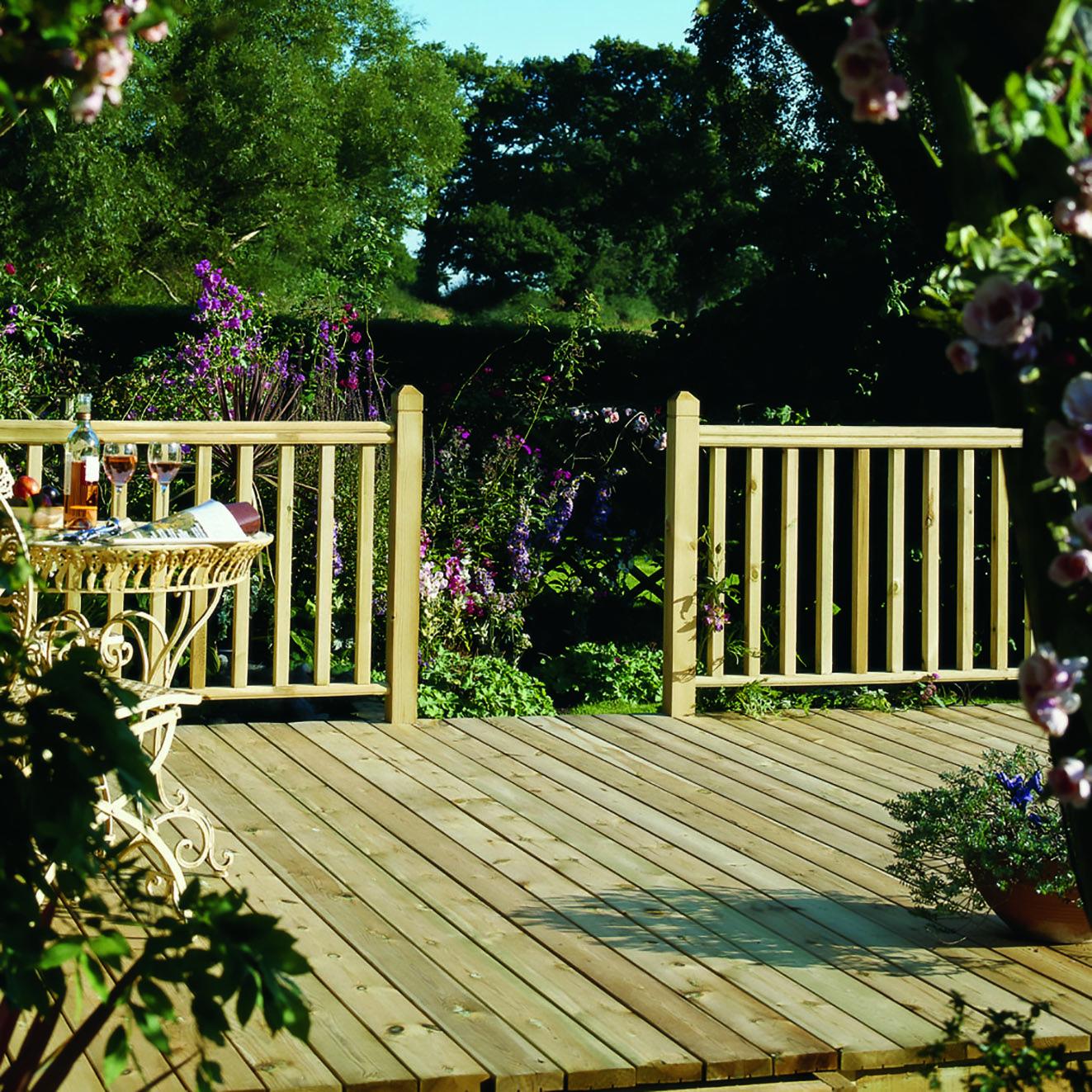 Garden Ideas Designs And Inspiration: Beautiful Decking And Garden Design Ideas/inspiration