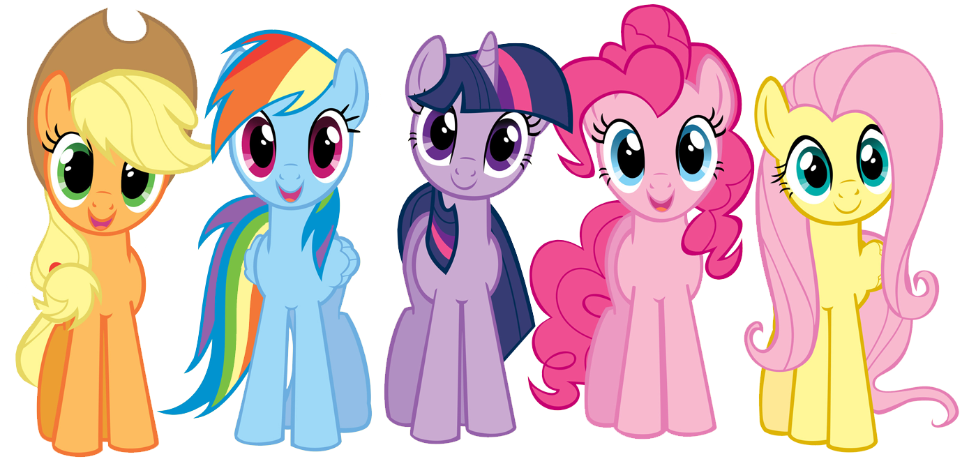 The Mane Before They Were The Mane 6