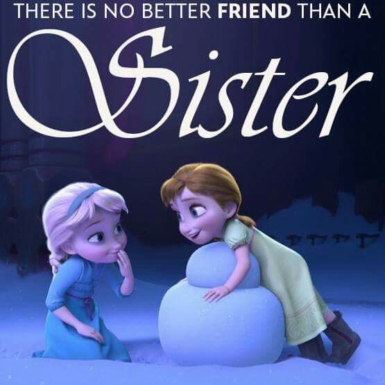 Love my sisters! | my likes | Frozen disney quotes, Disney movie