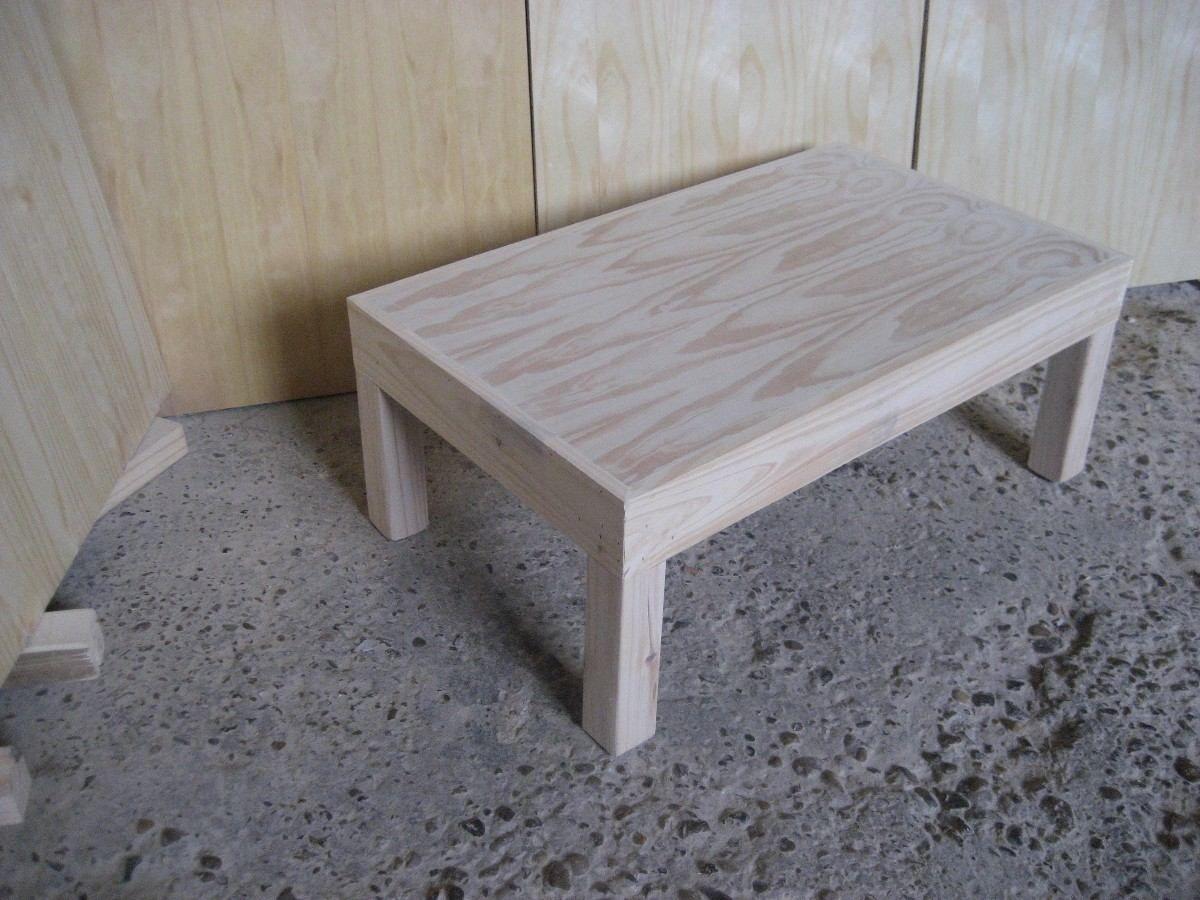 Mesa ratona de pino modelo asia mesas modelo and asia for Modelos de mesas