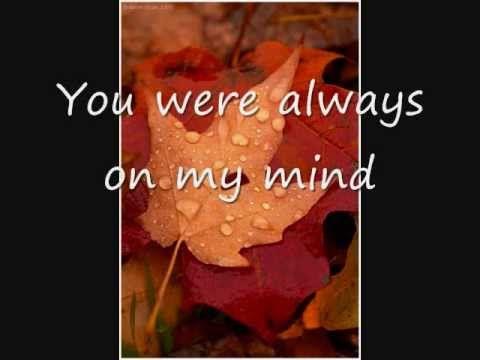 ALWAYS ON MY MIND CHORDS (ver 5) by Elvis Presley ...