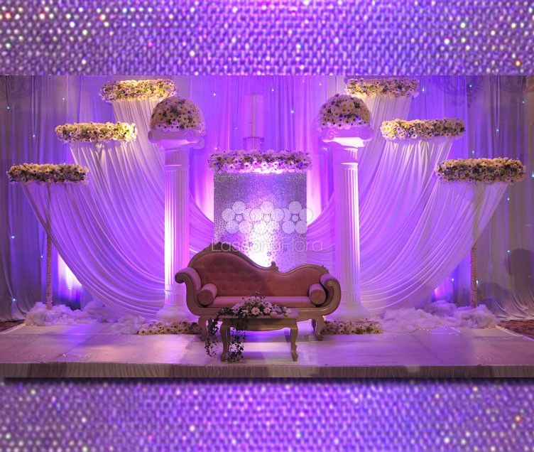Wedding Flower Decoration Photos: Wedding Settee Back - Weddings