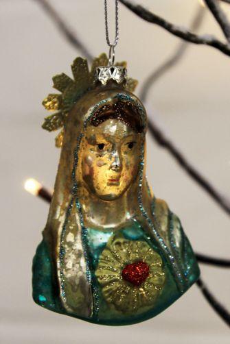 Virgin Mary Christmas Decoration