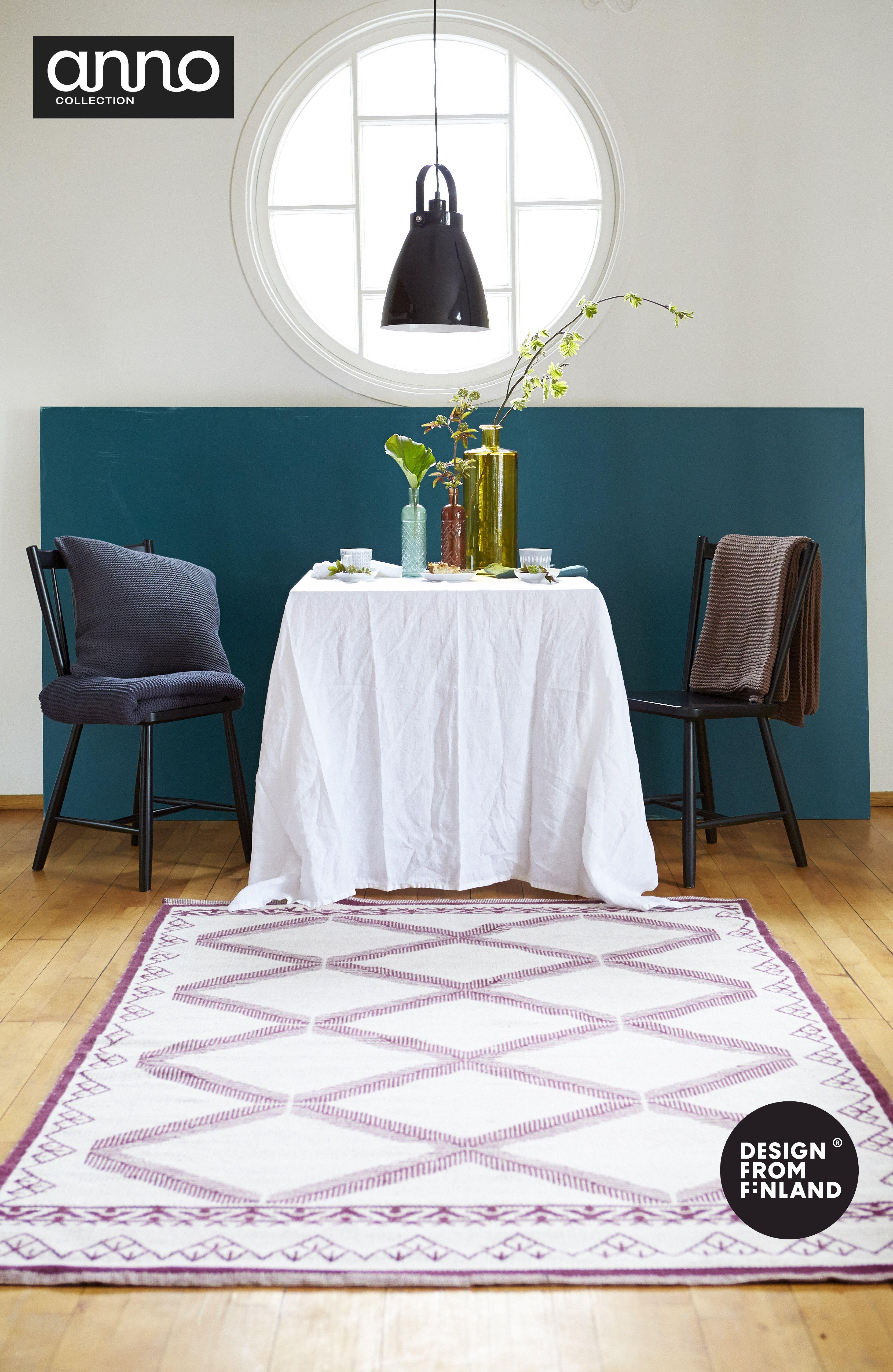 Susanna Vennon suunnittelema Anno Jalpaikka –villamatto. #habitare2014 #design #sisustus #messut #helsinki #messukeskus