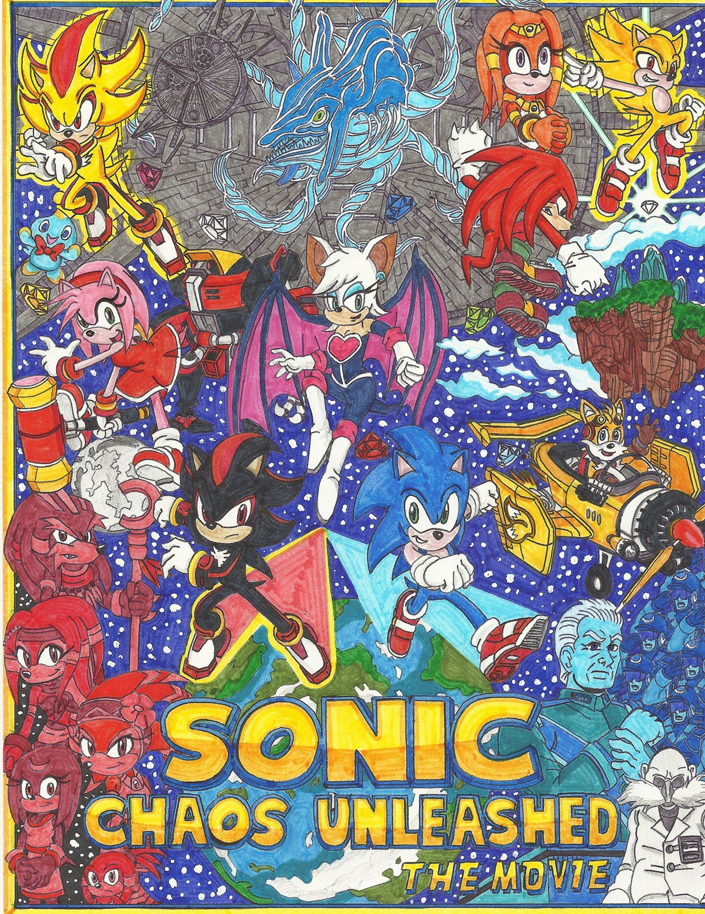 Check Out My Behance Project My Ideal Sonic The Hedgehog Movie