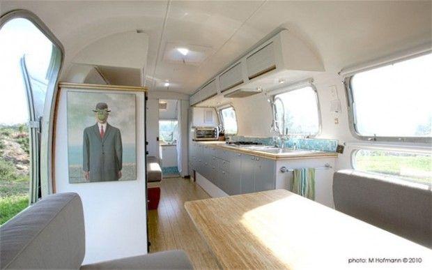 Modernized Vintage Airstream By Matthew Hoffman From Hoffman