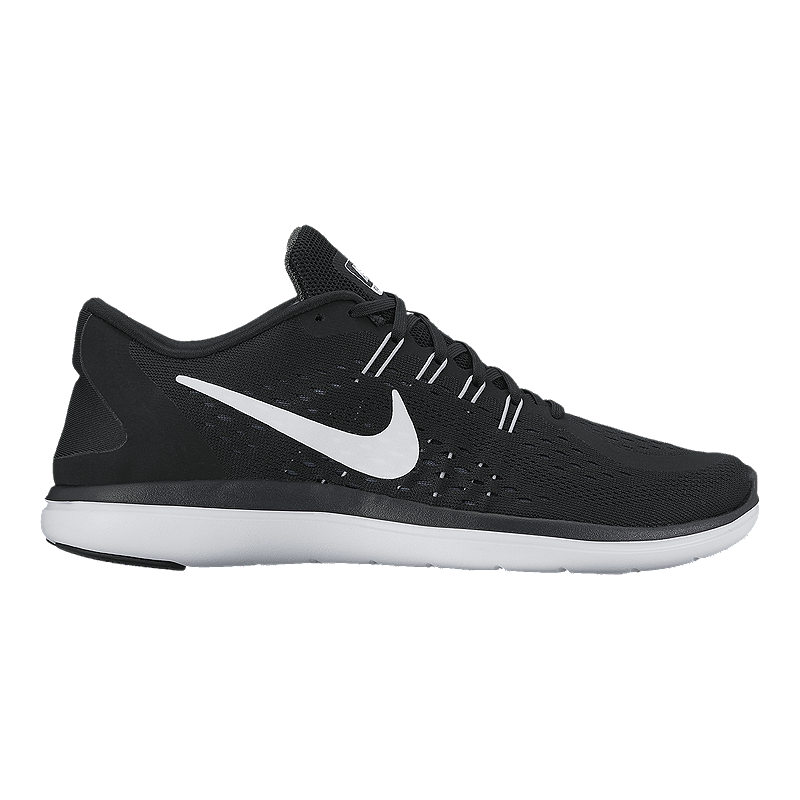 Nike Women's Flex 2017 RN Running Shoes - Black/White
