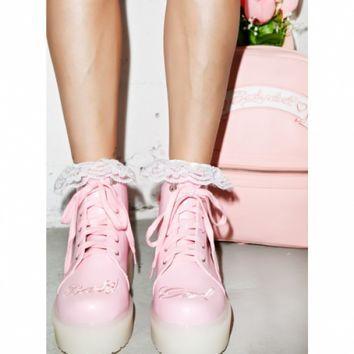 17c39604775 sneaker platforms DOLLSKILL - Google Search Baby Girl Boots