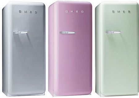 Retro Kühlschrank Pastell : Nice and new smeg retro fridges come to the u s