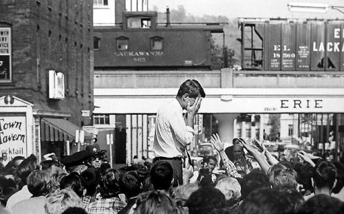 Robert F  Kennedy, Buffalo 1964 by Cornell Capa  via reddit