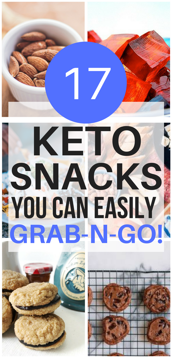 5 Essential Grab & Go Keto Snacks You Need In Your Pantry