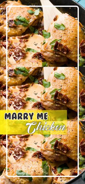 Marry Me Chicken | Floats CO #chicken #chickenrecipes #chickendinner #easyrecipe #easyfoodrecipes #simplerecipes #healthyfood #healthyrecipes #goodfood #marrymechicken