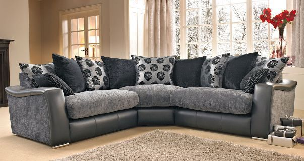Lowri Corner Sofa Like Dfs Black Grey Leather Corner Sofa Dfs Grey Corner Sofa Sofa Bed Design