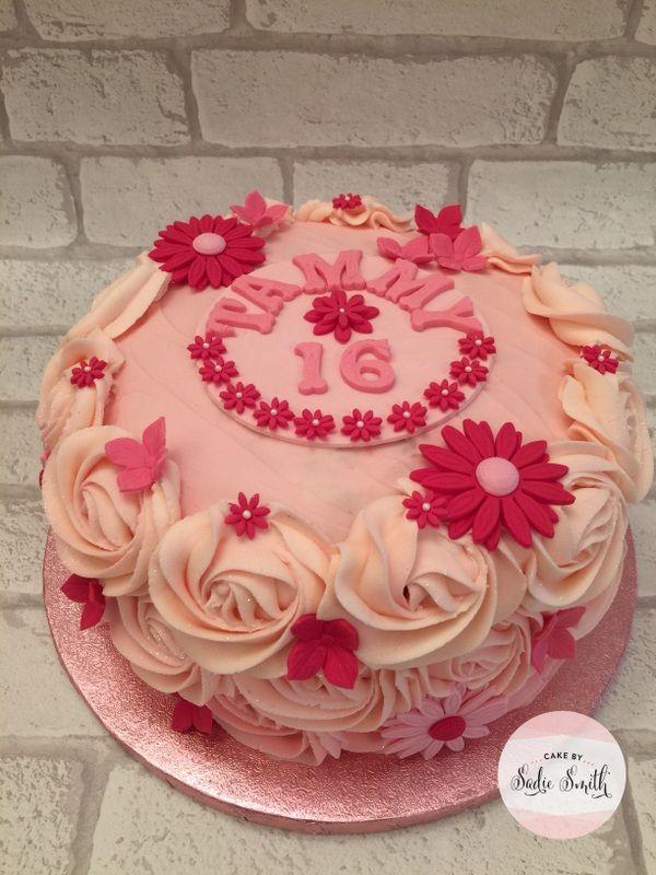 16th Birthday Cake Httpcakebysadiesmithcelebration