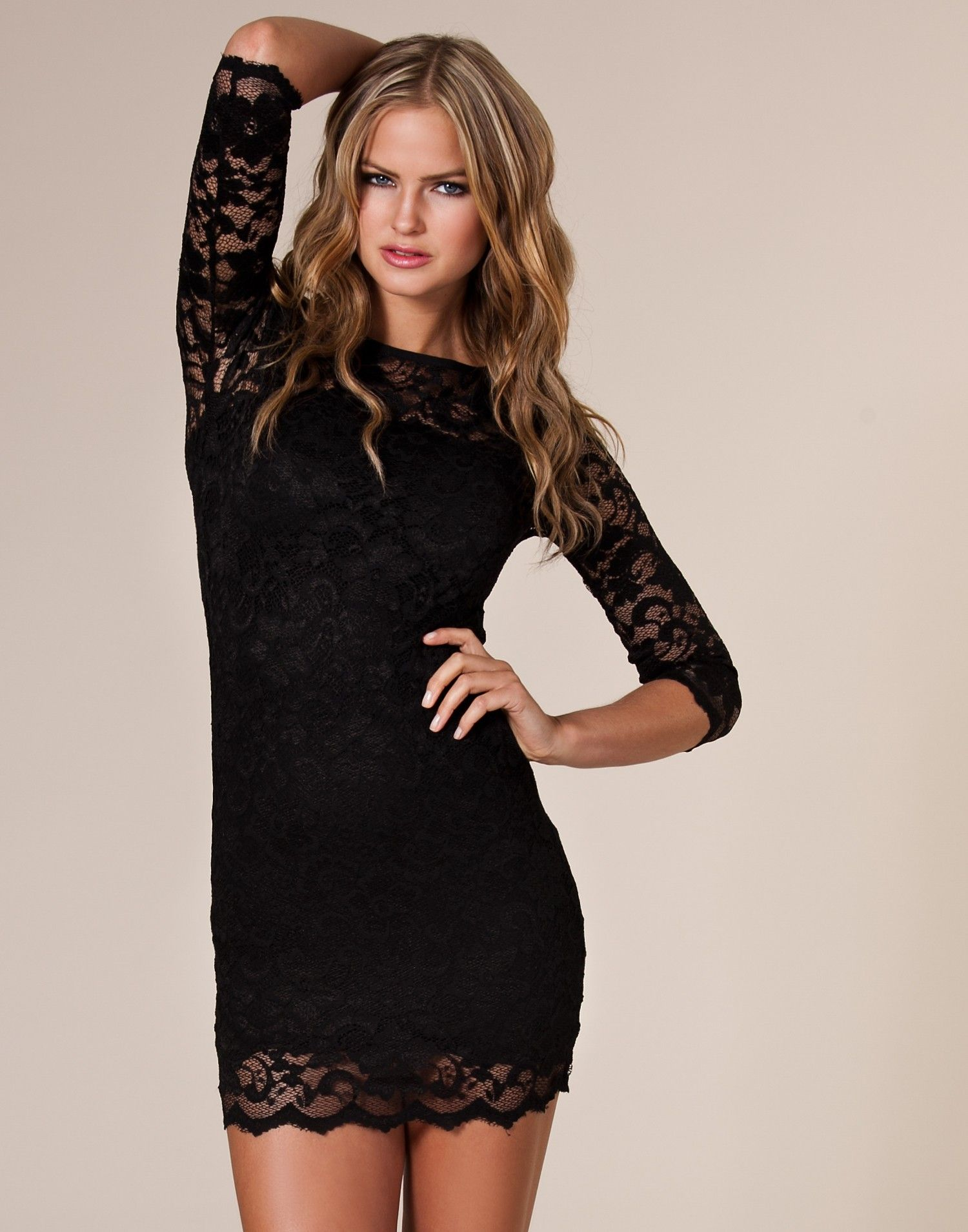 Image by Alaina Lober on Classy, Not Trashy Black lace