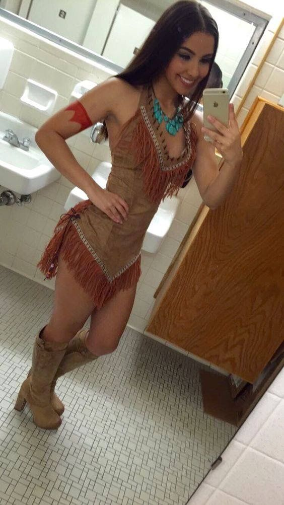 Pocahontas Costume By Unknown