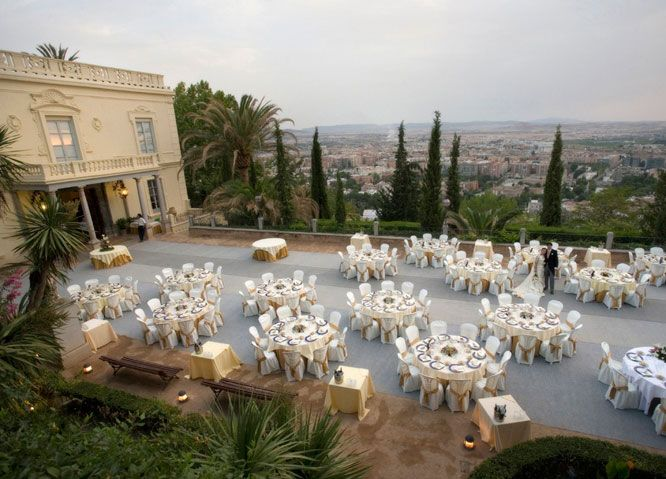 Places To Have A Wedding Near Me.Roof Top Venue In Granada Spain Destination Weddings And
